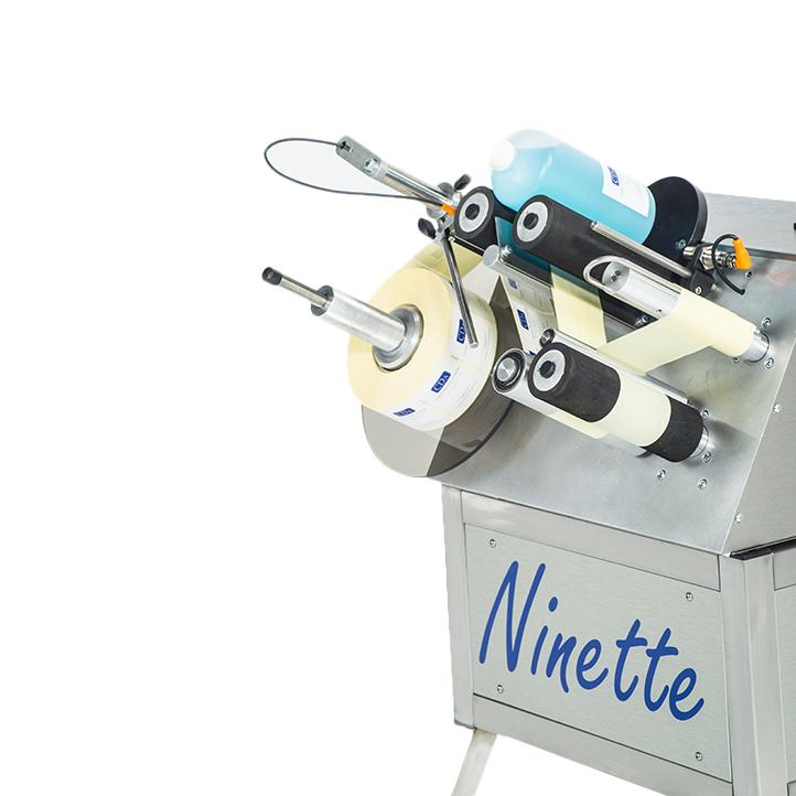 étiqueteuse semi-automatique 1 étiquette ninette 1 cda usa