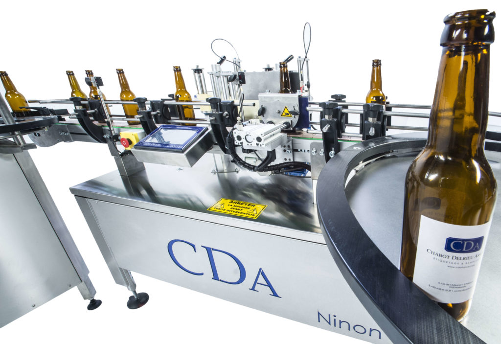 Ninon range, CDA's automatic labeling machine for all industries