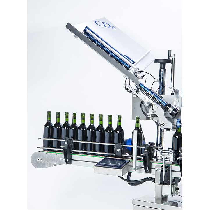 automatic labeler wine bottle alcohol bottle range R1000-R1500 cda usa