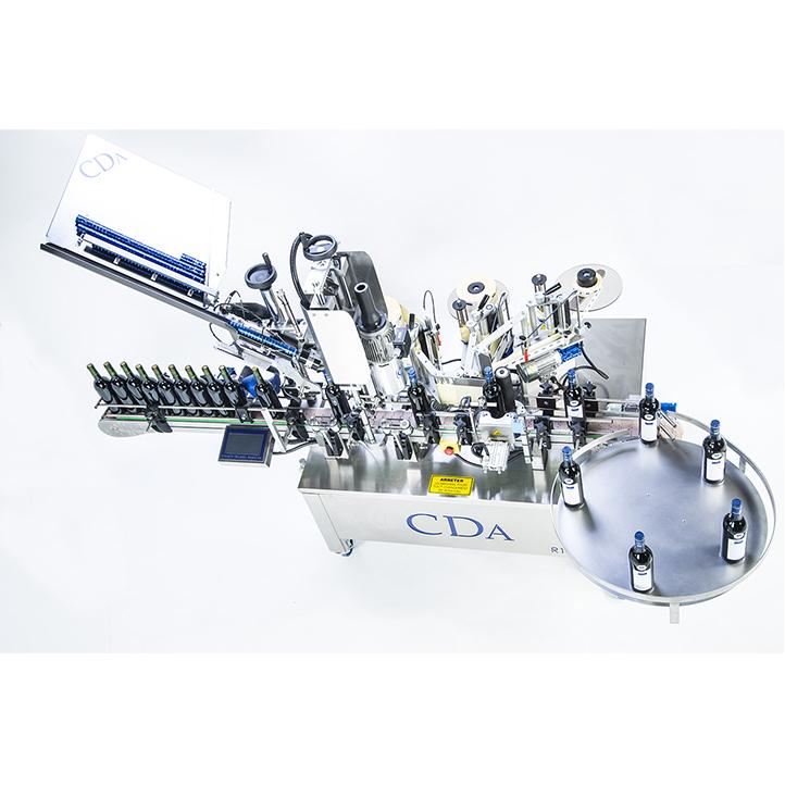 wine labeling and crimping machine distillery range R1000-R1500 cda usa