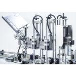 étiqueteuse sertisseuse automatique vin tranquille et effervescent r1000 r1500 mixte cda usa