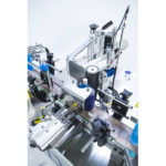 máquina etiquetadora de productos cilíndricos adhesivos gama solo cda usa