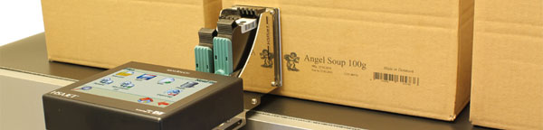 Inkjet printing on boxes