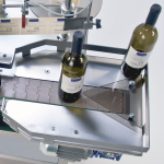 ninette auto CDA 's semi-automatic bottle labeling machine