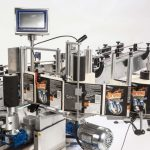 Ninon By-Pass, CDA's automatic labeling machine for vials and small bottles