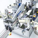 Ninon Mix, CDA's square product labeling machine