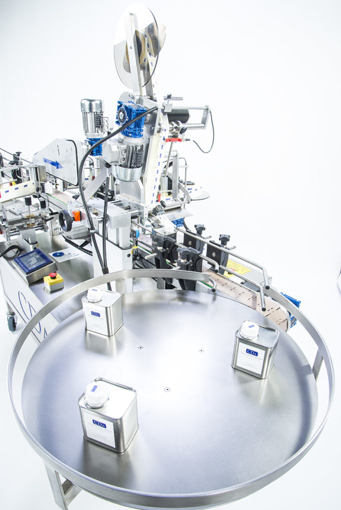 Ninon Mix, CDA's labeling machine for all industries