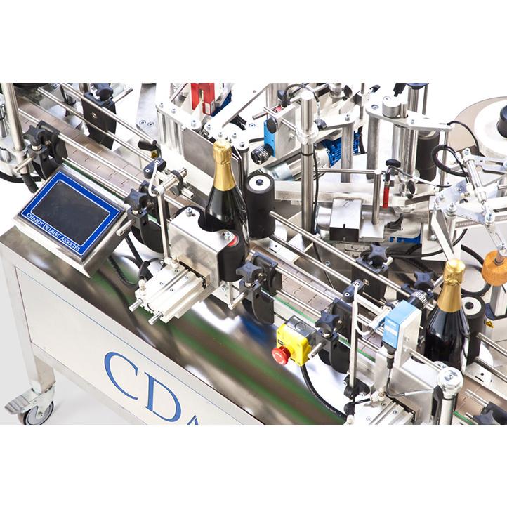 dépose étiquettes adhésives et sertissage r1000 coiffes cda usa