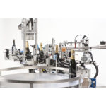 automatic labeling machine champagne bottle r1000 foils cda usa