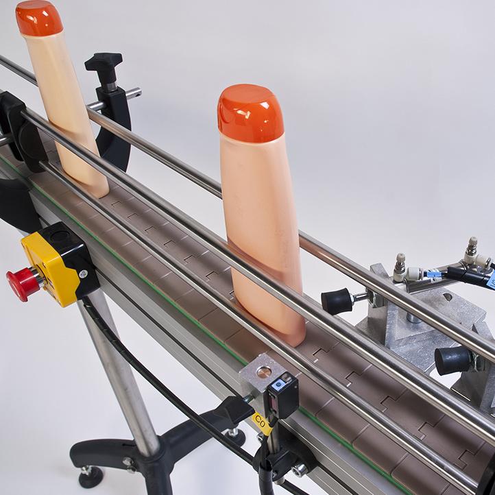 transportador simple, doble o triple para la máquina de envasado cda usa