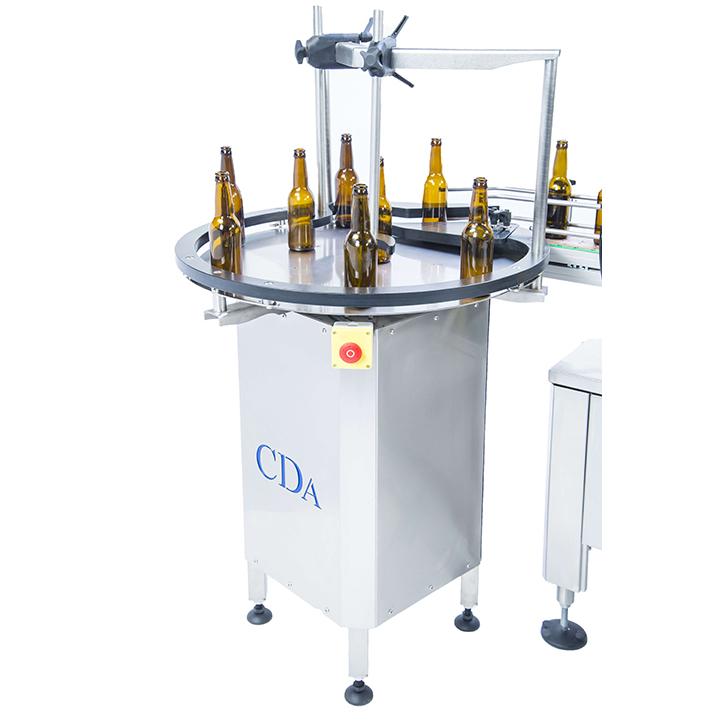 automatic self-adhesive labeler cylindrical product ninon 1500-2500 cda usa