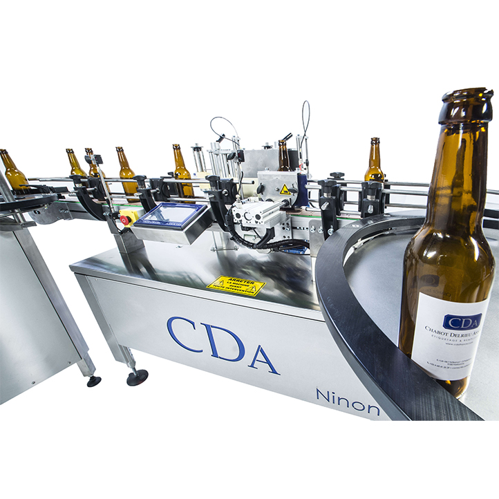 automatic labeling machine 4 labels ninon 1500-2500 cda usa