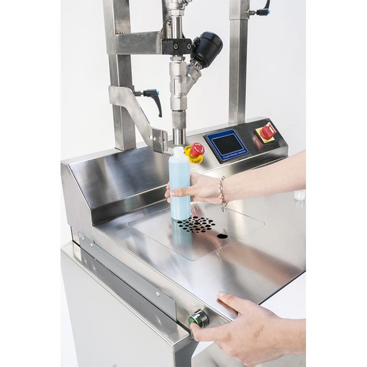 machine de remplissage semi-automatique pompe adaptée selon produit k-net cda usa