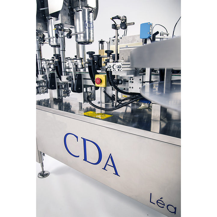 máquina etiquetadora automática para botellas de léa cda usa