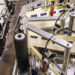 CDA's lea automatic labeling machine for wine