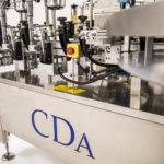 CDA's lea automatic bottle labeling machine