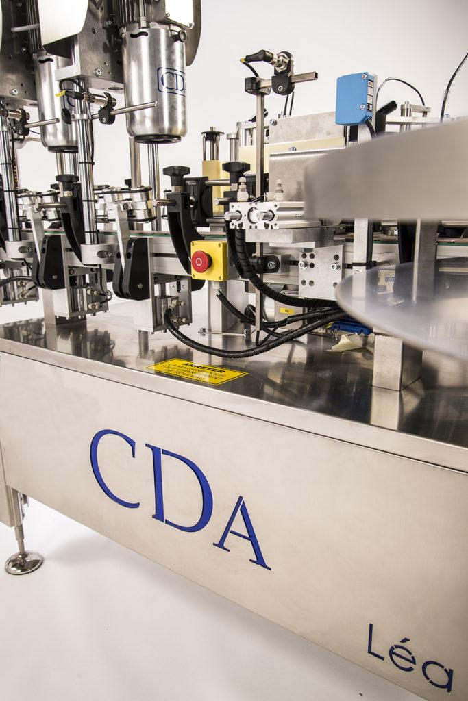 lea etiquetadora automática botella CDA