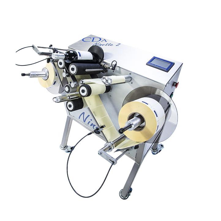 équipement semi-automatique étiquetage produit cylindrique ninette 2 cda usa