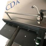 Ninette a plat etiqueteuse semi automatique carton CDA