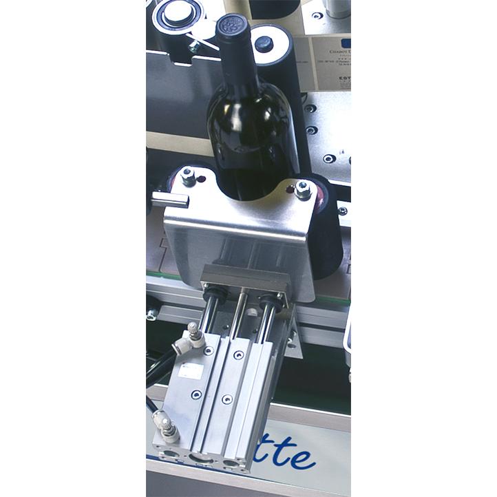 máquina etiquetadora semiautomática de productos cilíndricos ninette auto cda usa