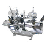 máquina etiquetadora semiautomática con cinta transportadora ninette auto cda usa