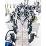 automatic linear labeler double conveyor ninon by pass cda usa
