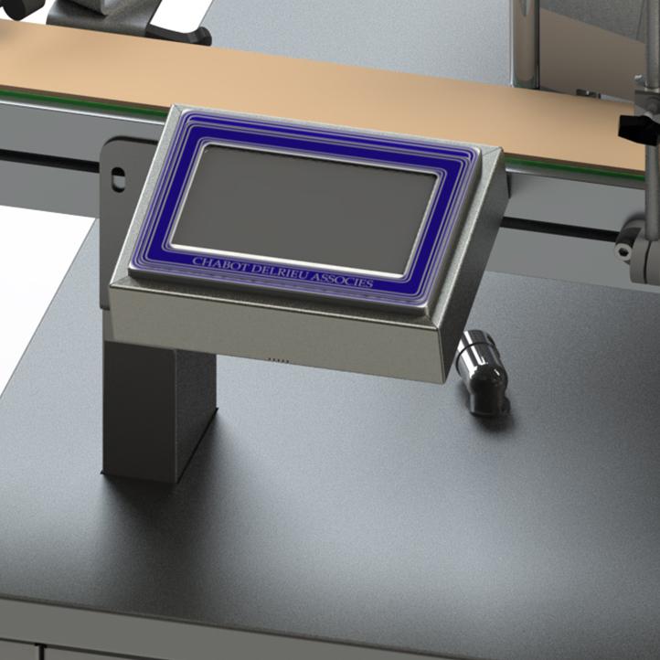 high speed linear adhesive labeler ninon wrap cda usa