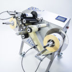 ninette 2 CDA semi-automatic labeling machine for 2-label applications
