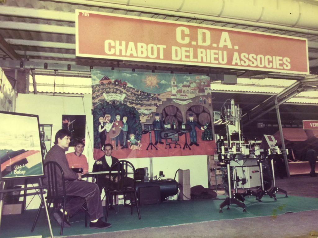primer salón CDA profesional de llenadoras etiquetadoras