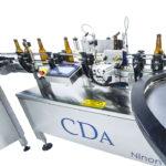 étiqueteuse automatique pour bouteille en verre 33cl 75cl b1500 cda usa