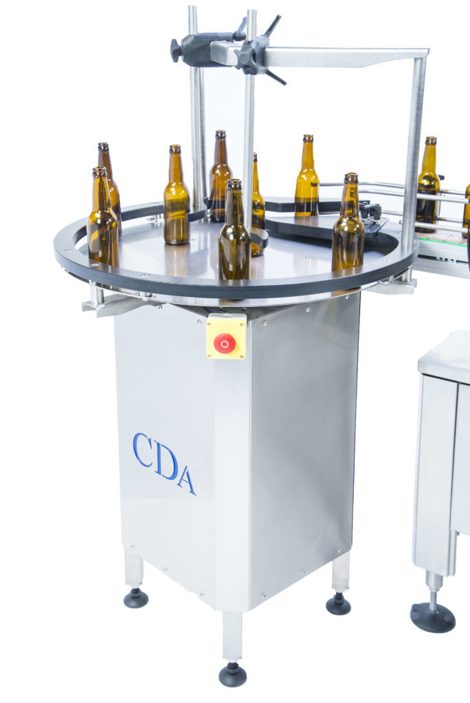 b1500 CDA's automatic labeling machine for beer