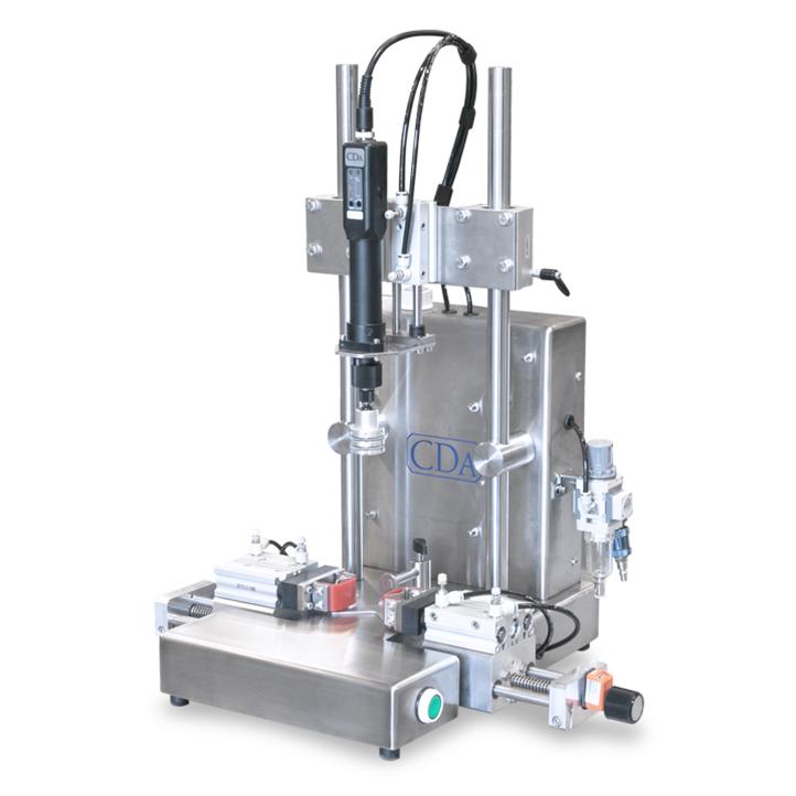 Módulo de atornillado semiautomático de tapón VS 100