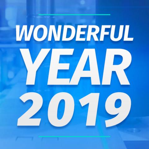 Wonderful year 2019
