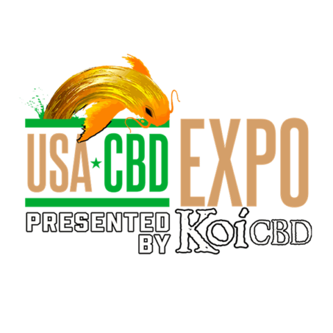 Logo for USA CBD EXPO trade show