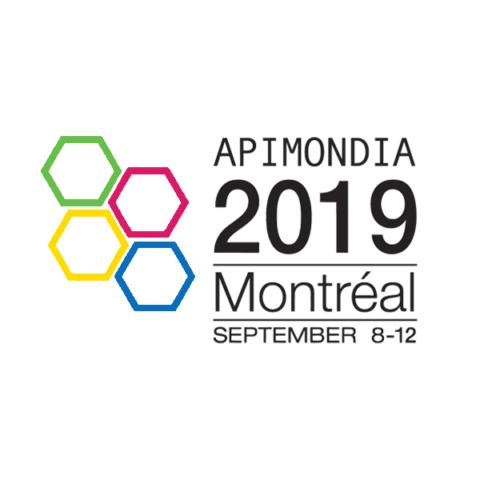 Apimondia trade show logo