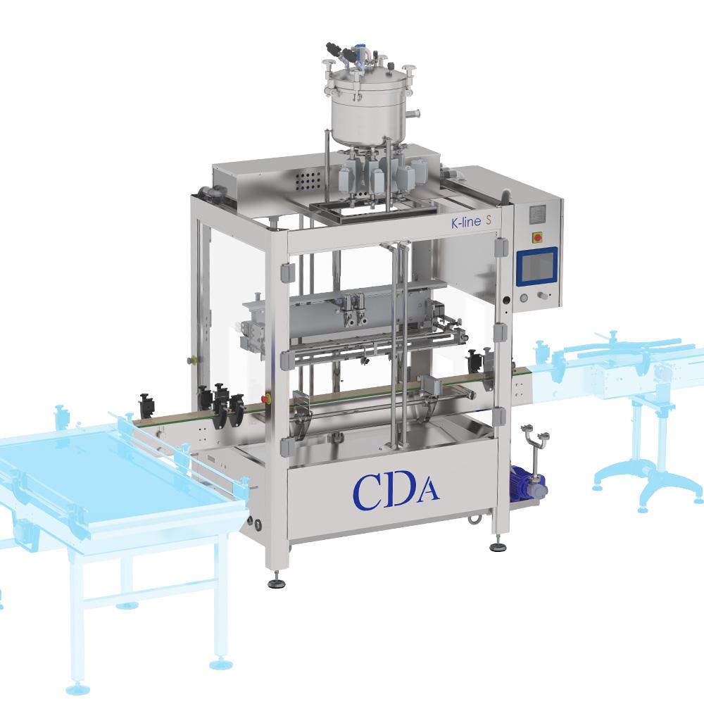 K Line S CDA filling machine