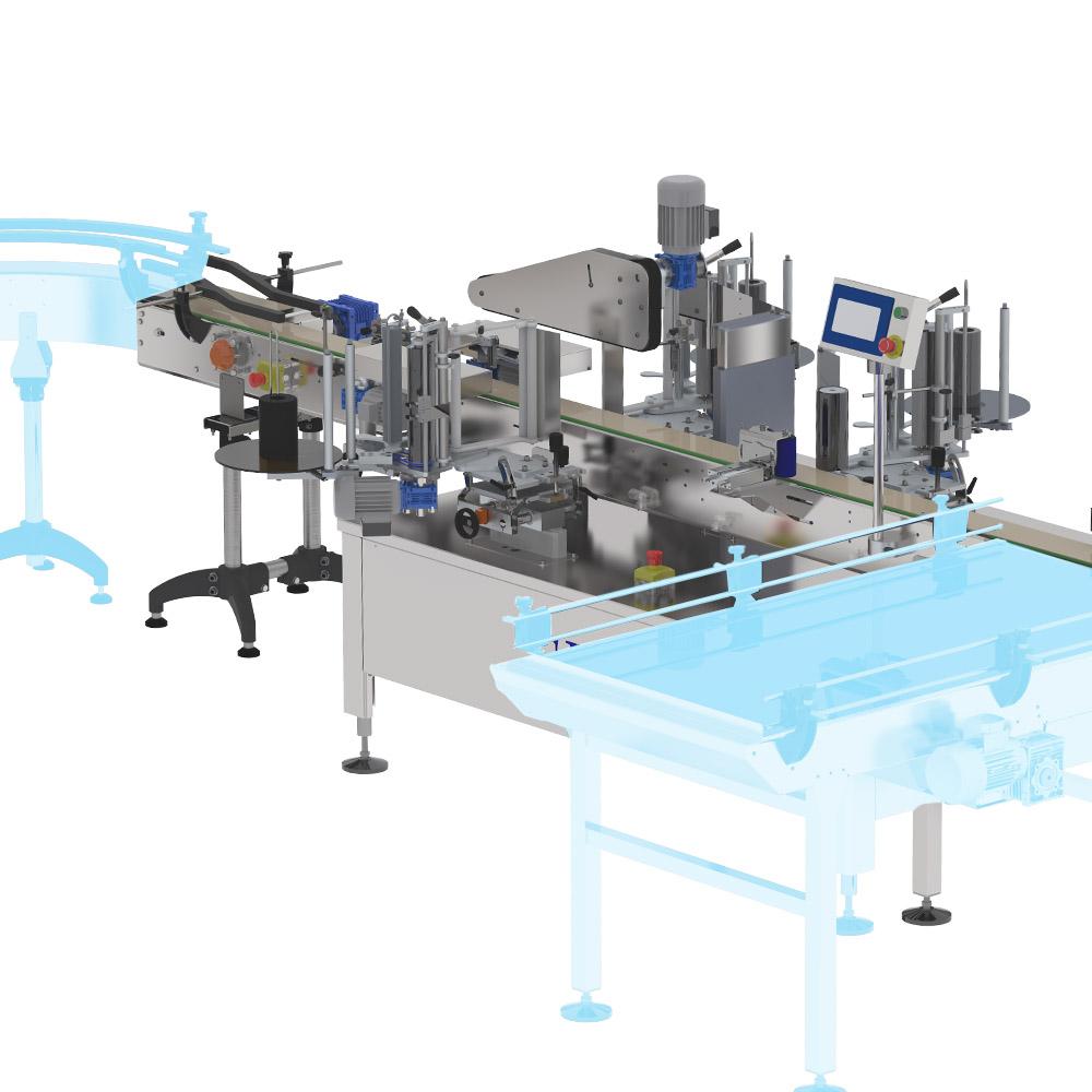 Ninon Mix CDA labeling machine