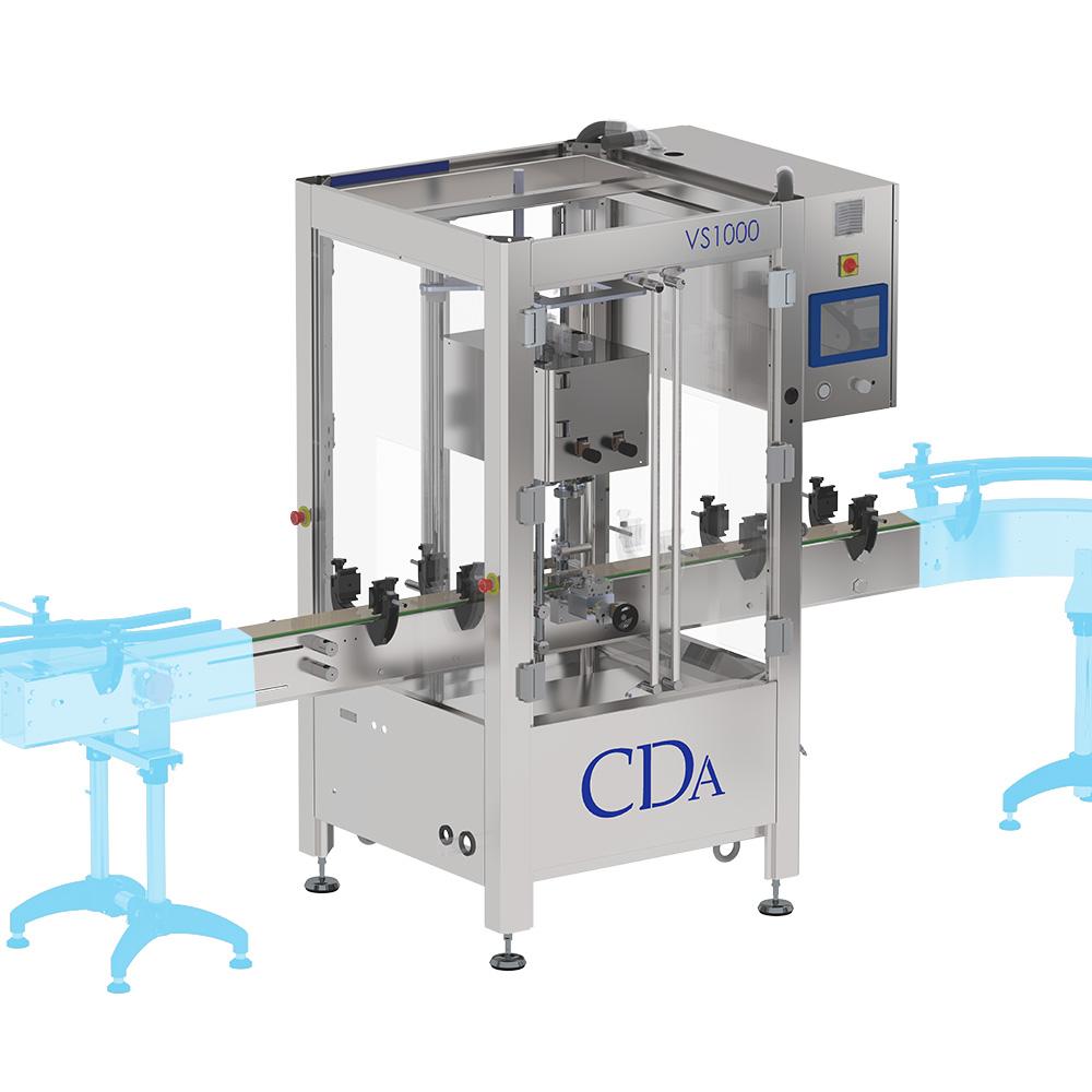 VS 1000 CDA capping machine