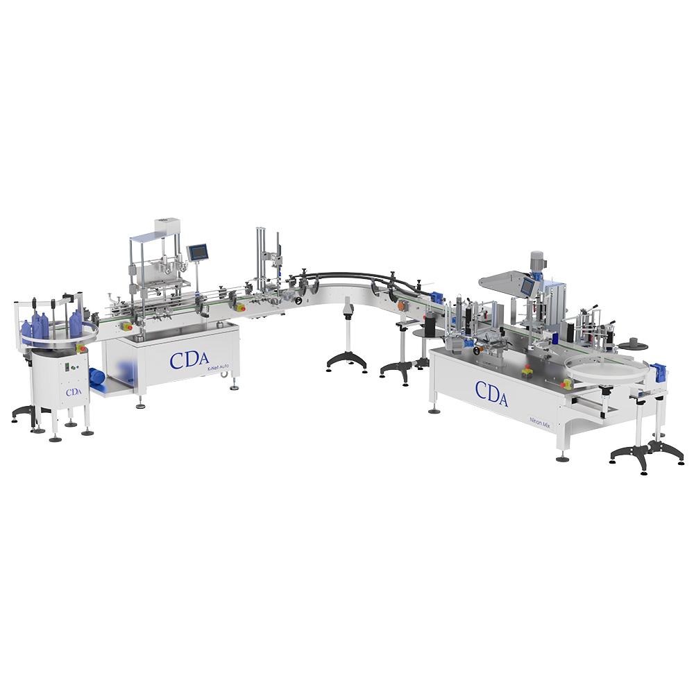 Complete line – K Net Auto – VS400 – Ninon Mix